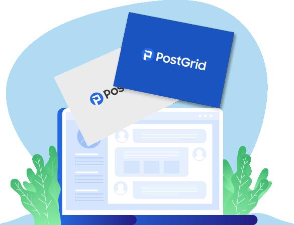 postgrid postcard print and mail